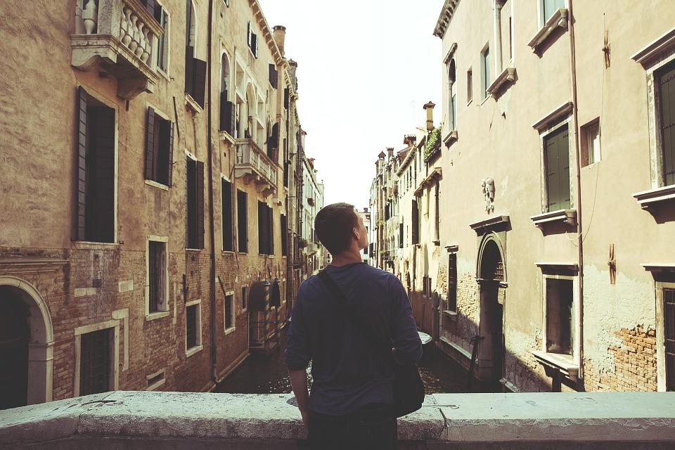Traveller in Europe